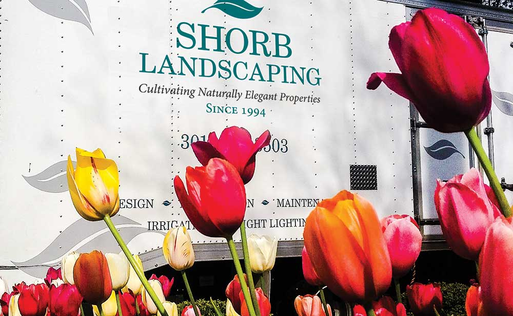 Shorb Landscaping Truck